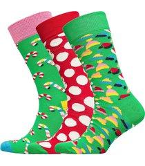 holiday gift box underwear socks regular socks multi/mönstrad happy socks