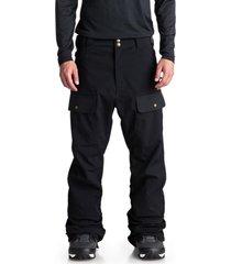 pantalon snowboard hombre asylum negro dc