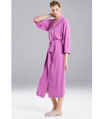 natori shangri-la robe, women's, blue, size xxl natori