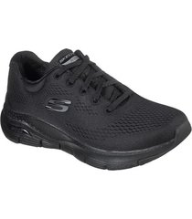 zapatos mujer  arch fit - big appeal negro skechers