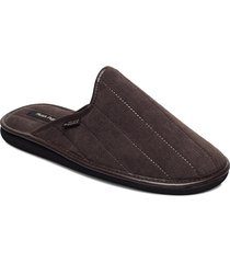 boston canale slippers tofflor brun hush puppies