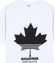 camiseta hombre belong to advance color blanco, talla m