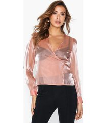 glamorous crossover metallic top blusar & skjortor