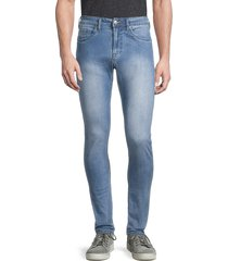 buffalo david bitton men's max-x skinny-fit stretch jeans - light wash - size 34 30