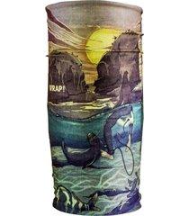 bandana punta de lobos multicolor wild wrap