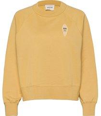 hope sweatshirt sweat-shirt tröja gul wood wood