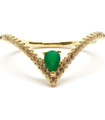 anel cleópatra turmalina di capri semi jóias x ouro dourado