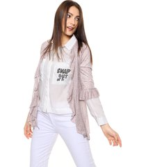 saco animal print etam jeans ingrid