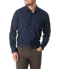 men's rodd & gunn northcote original fit cotton button-up shirt, size large - blue