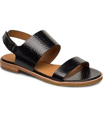 sandals 4151 shoes summer shoes flat sandals svart billi bi