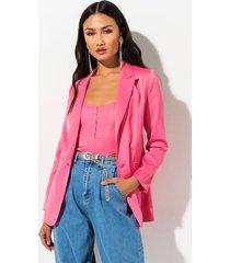 akira barbie girl fitted blazer