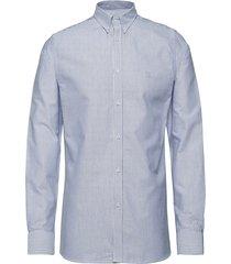 christoph oxford shirt skjorta business blå les deux