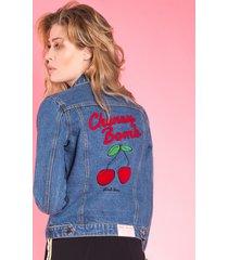 kurtka jeansowa cherry bomb