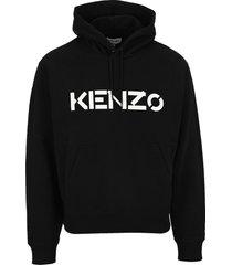 kenzo logo hoodie
