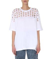 maison margiela round neck t-shirt