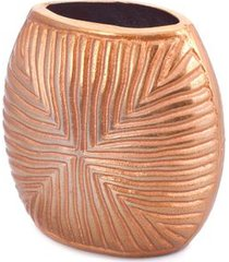 vaso texas p cor: ouro - tamanho: p