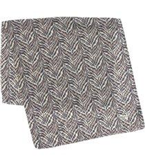 echo 23 zebra-print wrap scarf