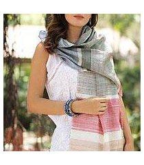 silk shawl, 'urban style' (india)