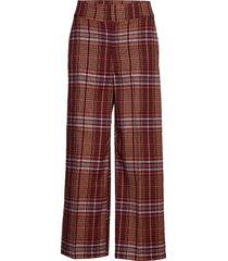 jaeliw culotte pant wijde broek rood inwear