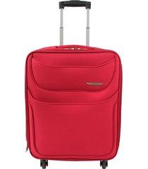 """maleta de viaje grande runner 28"""" roja - explora"""