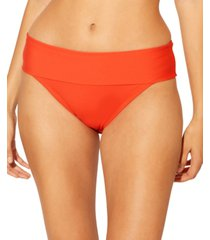 bleu by rod beattie foldover hipster bikini bottoms women's swimsuit