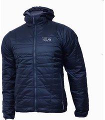 chaqueta hombre azul / gris switch flip hooded mountain hardwear