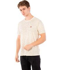 camiseta básica masculina com aplique no stress - masculino