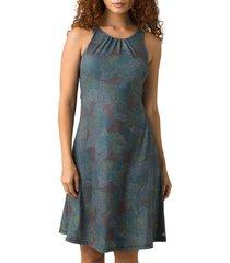 women's prana skypath a-line dress, size small - grey