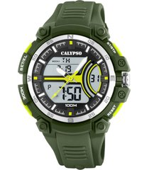 reloj street style verde calypso