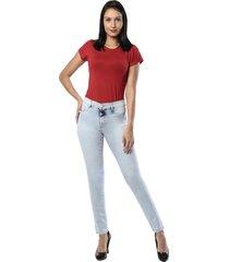 calça jeans sawary legging hot pants azul claro