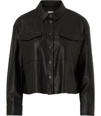 jacka onlmarina faux leather jacket cc pnt