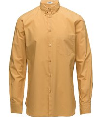 m. peter washed poplin shirt overhemd business geel filippa k