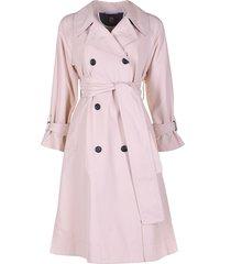 il cappottino jas penelope licht-nude roze