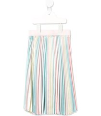 billieblush straight pleated skirt - multicolour
