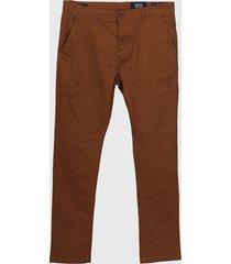 pantalón marrón devré