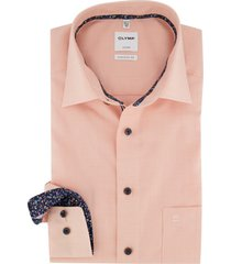 overhemd olymp luxor comfort fit oranje