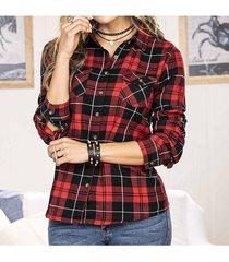 blusa brasil rojo para mujer croydon
