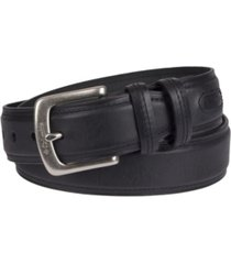 columbia casual leather men's belt
