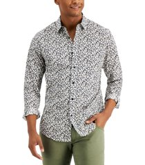 inc international concepts men's brit ditsy shirt, created for macy's