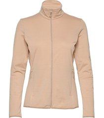 outrack full zip midlayer sirocco sweat-shirts & hoodies fleeces & midlayers beige salomon