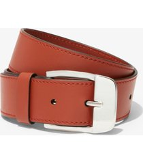 proenza schouler thick leather belt brown 65