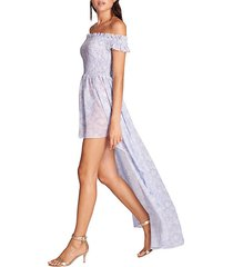 alex shirred dress