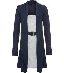 abito in maglia (blu) - bodyflirt
