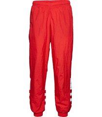 bg trefoil tp sweatpants mjukisbyxor röd adidas originals