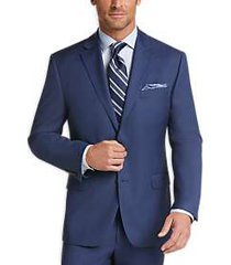 lauren by ralph lauren blue sharkskin modern fit suit