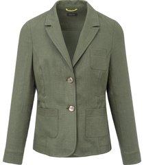 blazer van basler groen
