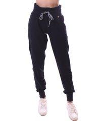 calça simony lingerie jogger  delicotton preto - kanui