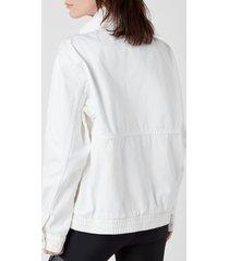p.e nation women's 1967 jacket - optic white - l