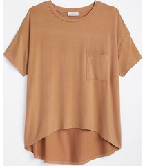 loft oversized luxe knit pajama top