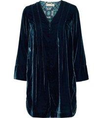 giselle dress kort klänning blå odd molly